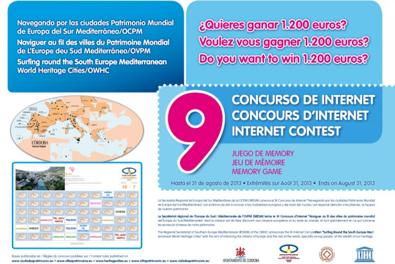 Concurso 'Navegando por las ciudades Patrimonio Mundial'